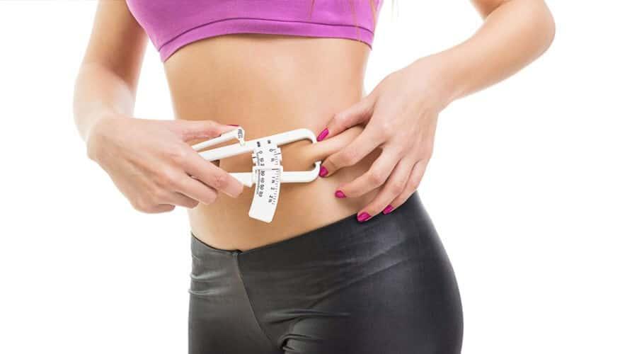calculateur de pourcentage de graisse de corps d étrier de peau