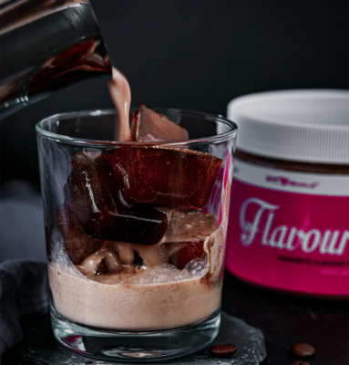 Schoko-Eiskaffee 2