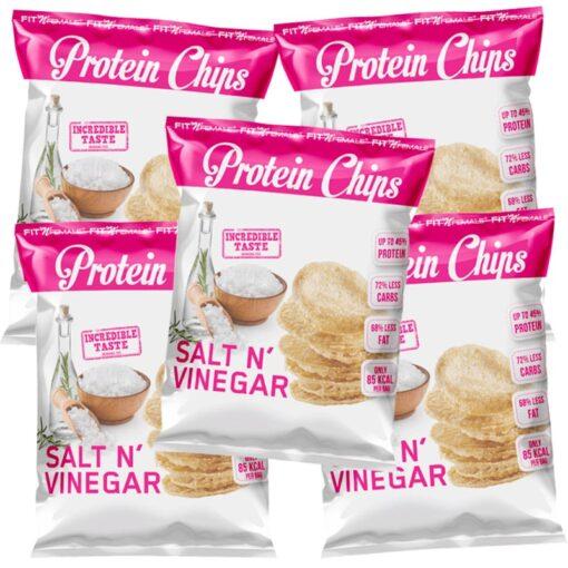 Protein Chips - 5er Pack 1